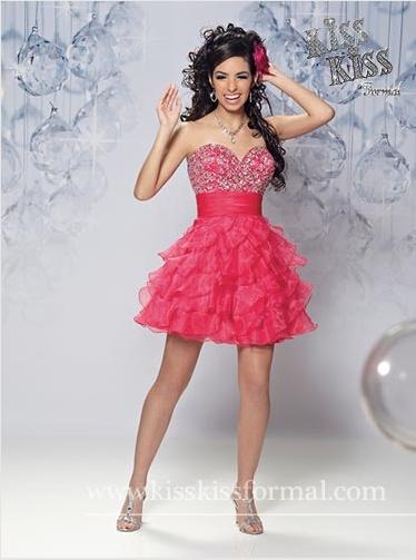 4e2d7d77f Vestidos de quinceañeras cortos y modernos - Todo para la Quinceañera