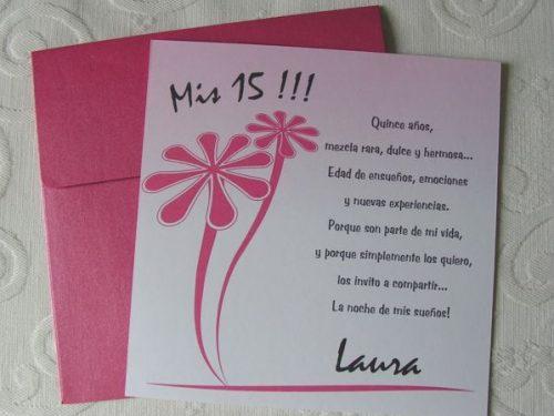 Ideas para realizar tarjetas de invitación de 15 años (14)
