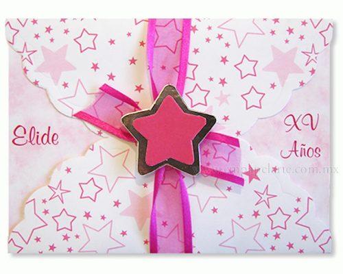 Ideas para realizar tarjetas de invitación de 15 años (7)