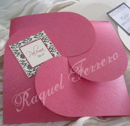 Ideas para realizar tarjetas de invitación de 15 años (8)