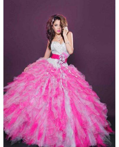 13 Bellos vestidos para fiestas de 15 en invierno (5)