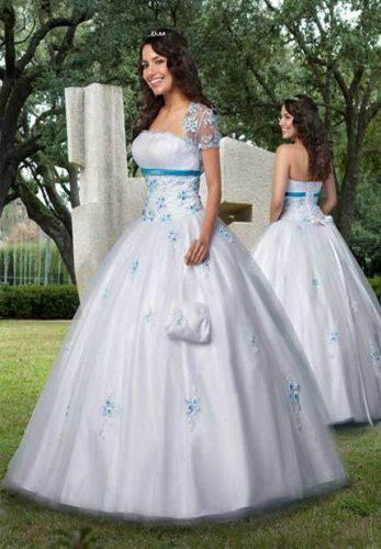 13 Bellos vestidos para fiestas de 15 en invierno (6)