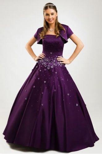13 Bellos vestidos para fiestas de 15 en invierno (8)