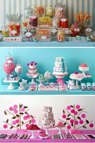 10 hermosas mesas dulces para 15 a os todo para la for Mesa de dulces para 15
