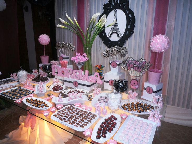 10 hermosas mesas dulces para 15 a os todo para la - Fotos de mesas decoradas ...