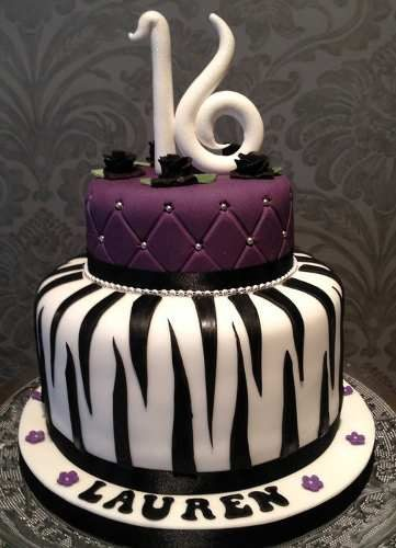 12 Originales tortas de 15 años (1)