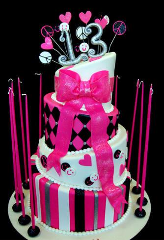 12 Originales tortas de 15 años (11)