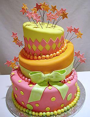 12 Originales tortas de 15 años (8)