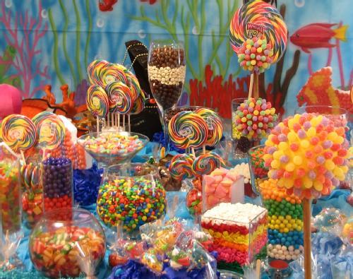 11 hermosas mesas dulces para quince a os todo para la for Decoracion de mesas dulces infantiles