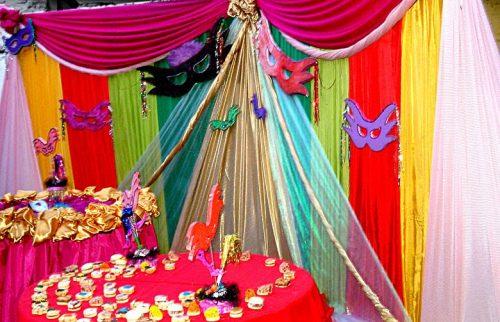 10 ideas para una decoración de 15 años de carnaval (10)