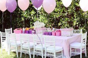 11 decoraciones de fiestas de 15 años al aire libre