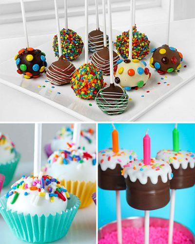 ATRACTIVOS CAKE POPS