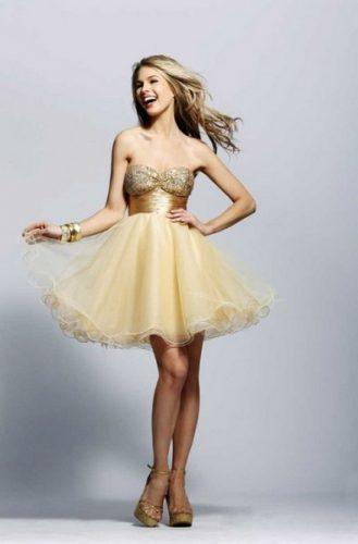 vestidos de 15 años cortos18
