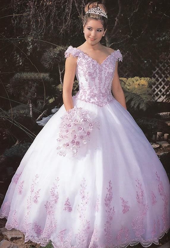 f5eff71ba Imágenes de vestidos de 15 años estilo princesa - Todo para la ...