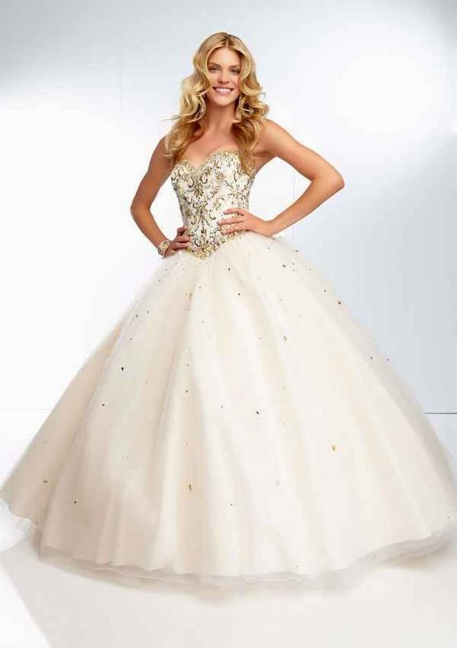 953fa19b631 Imágenes de vestidos de 15 años estilo princesa - Todo para la ...
