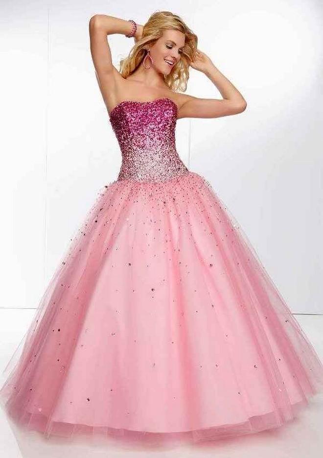 Imágenes de vestidos de 15 años estilo princesa - Todo para la ...