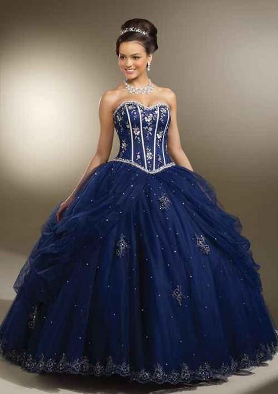 3bc687748 Imágenes de vestidos de 15 años estilo princesa - Todo para la ...