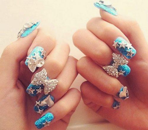 imagenes de uñas decoradas para 15 años13